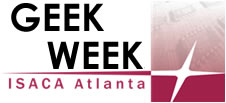ISACA Atlanta Geek Week Logo