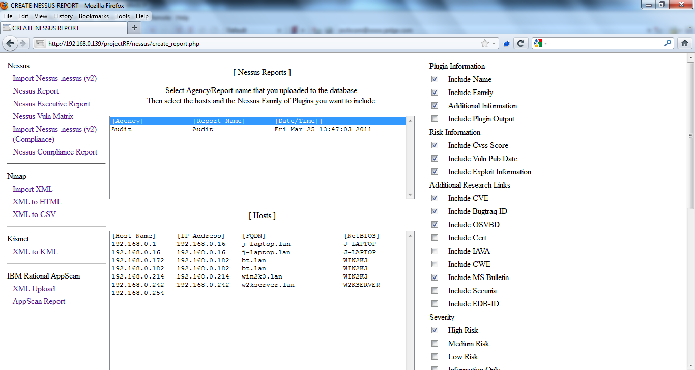 Project RF – jedge com Information Security